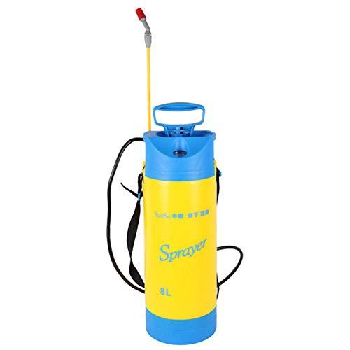 BeneU 5L / 8 Liter Pumpe Aktion Drucksprüher Manuelle Pneumatische Garten Sprayer Tragbare Hochdruckreiniger Auto Fahrrad Ideal Mit Unkrautvernichter, Pestiziden, Herbiziden, Insektiziden, Fungiziden