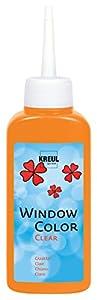 KREUL 40204-Window Color Cristal Transparente, 80ml, Naranja
