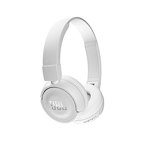 JBL T450BT Kabelloser On-Ear Bluetooth Kopfhörer mit Integrierter Musiksteuerung und