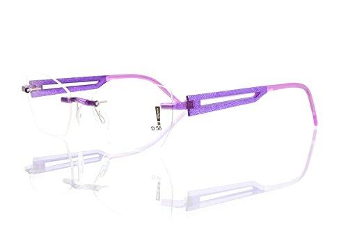 switch it Garnitur Combi 2362 Wechselbügel Montur in der Farbe Style violett, Druck dunkelgrau-grau