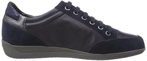 Geox  D MYRIA E, Sneakers basses femmes Bleu - Blau (C4064NAVY)