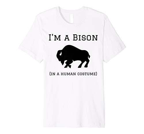 I 'm a bison in ein Menschliches Kostüm Funny ()