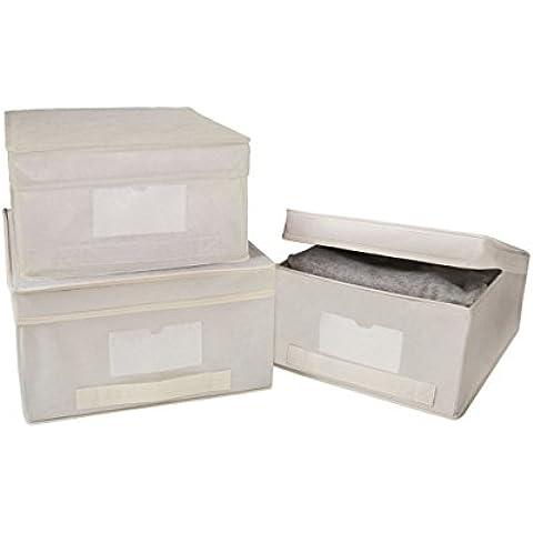 Rayen 2061 - Caja para guardar ropa, talla M, material transpirable
