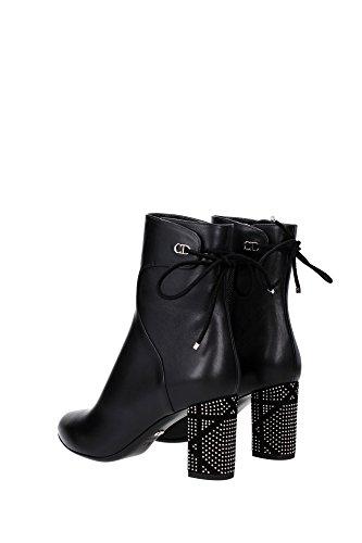KCI352CASS900 Christian Dior Chaussure mi montantes Femme Cuir Noir Noir