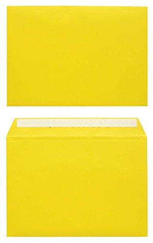 office-depot-farbige-umschlage-ohne-fenster-abziehstreifen-120-g-m-324-x-229-mm-din-c4-gelb-10-stuck