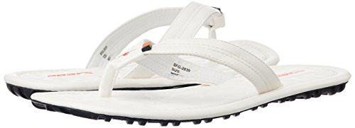 Sparx Men's White Flip-Flops and House Slippers - 8 UK (SF2039G)