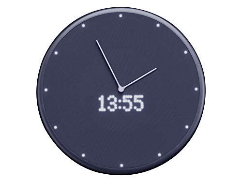 Glance Clock smarte Wanduhr Bluetooth Smart Clock LED iOS Android Black