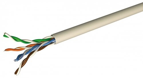 Draka HP-FTP Installationskabel 100 m, Kat.6, 250 MHz, blau, VE = 1