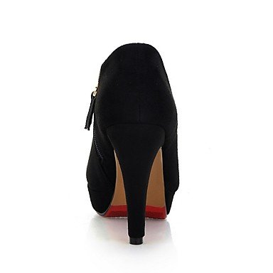pwne Donna Primavera tacchi Slingback PU all'aperto Black US7.5 / EU38 / UK5.5 / CN38 US5 / EU35 / UK3 / CN34