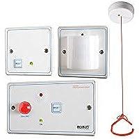 Robus RDPTA-01 funda para tarjetas de personas inodoro Kit de luces para patines sistema de alarma de emergencia