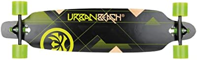 Urban Beach Longboards Twin Tip - Longboard, color Verde