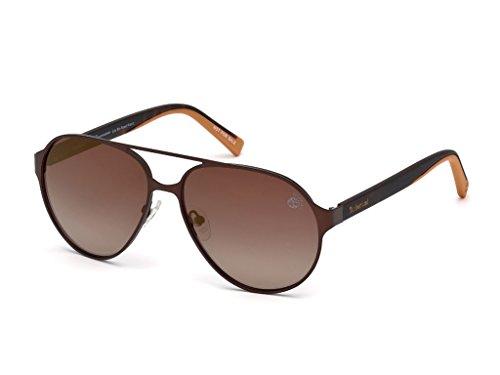 Timberland Unisex-Erwachsene Brillengestelle TB9145 49H 57, Braun Scuro Op\\Marrone Polar