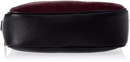 Chicca Borse 1616, Borsa a Spalla Donna, 22x16x7 cm (W x H x L) Rosso