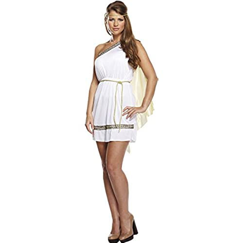 Ladies Roman Goddess Ancient Greek Toga Fancy Dress Costume Outfit U37158  sc 1 st  Amazon UK & Greek Fancy Dress: Amazon.co.uk