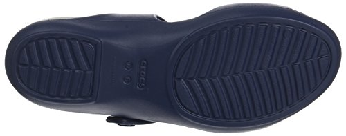 Crocs Cleo V Sandal Women, Blue (Navylight Grey), 9 Uk (11 Us)
