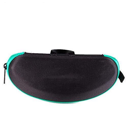 Keliour-sun Sonnenbrillen-Aufbewahrungsbox Sonnenbrille Box Zipper Myopie Brille Aufbewahrungstasche Für Brillenschmuck und Uhren