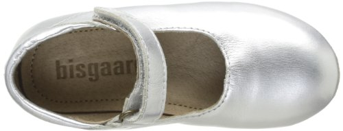 Bisgaard 12310999, Chaussons fille Argent (01 Silver)