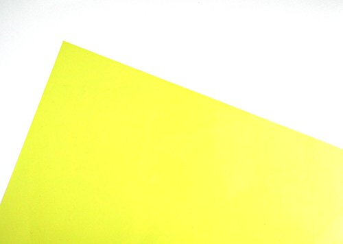 A4 Yellow Acetate X 5 Sheets Coloured UK Card Crafts