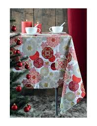 Strasbourg Nappe Enduite Rouge 100% Cotton 155 x 250 cm
