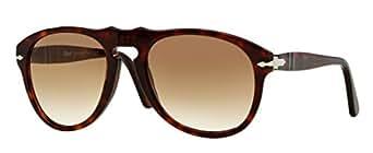 Persol PO0649 24/51 Tortoise PO0649 Aviator Sunglasses Lens Category 2 Size 54m