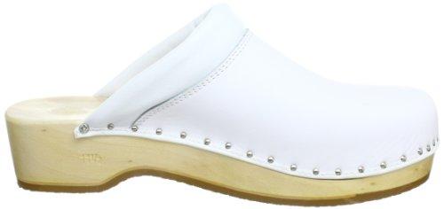 Berkemann Soft-Toeffler Unisex-Erwachsene Clogs Weiß (weiß 100)