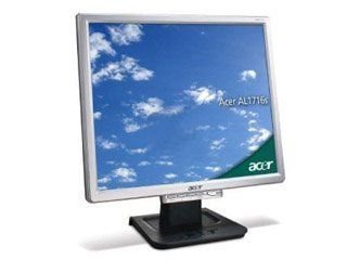 Acer AL1716AS 43,2 cm (17 Zoll) TFT Monitor (Kontrast 500:1, 8MS Reaktionszeit) Acer 17 Tft-monitor