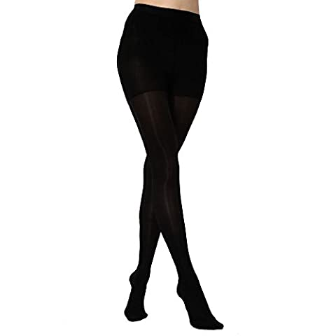 KoolFree Women Far Infrared Medical Grade Graduated Compression Pantyhose Tights,