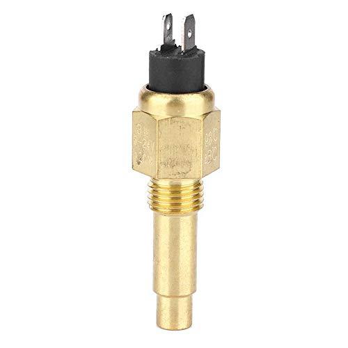 Ersatz-Kühlmitteltemperatursensor, 3/8 '' NPT 98 ℃ Motorwassertemperatursensor Passend für VDO 6~24V Motorzubehör