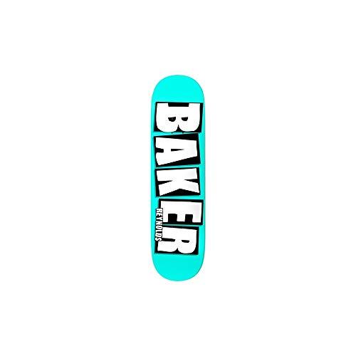 Baker Skateboards Brand Name Neon AR Blu 8.0