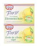 Dr. Oetker Zitronenschale Finesse gerieben 12g