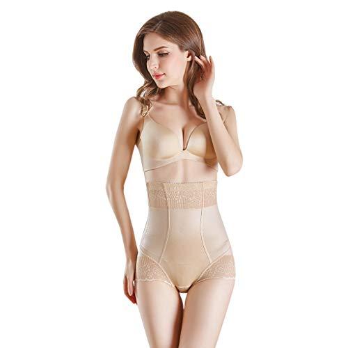 Scrolor Damen Korsett Taillenmieder Unterbrust Elegante sexy Hosen kontrollieren den schlanken Bauchkorsett-Körper und eine Starke Netzdurchlässigkeit Shapewear