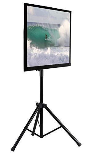 Mount-It. LCD Flat Panel TV Stativ, tragbarer TV Ständer für LCD LED Flat Screen TV Größen 81,3-177,8cm, verstellbar Höhe Pole, unterstützt bis zu 77LBS und VESA 600x 400(mi-874) Digital-signage-stand