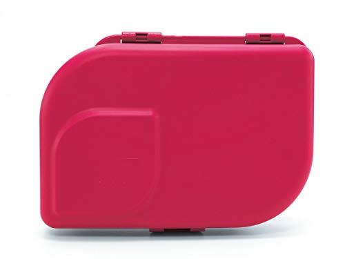 NANA pinke Bio-Brotdose - Die BPA-freie Lunchbox aus nachwachsenden Rohstoffen