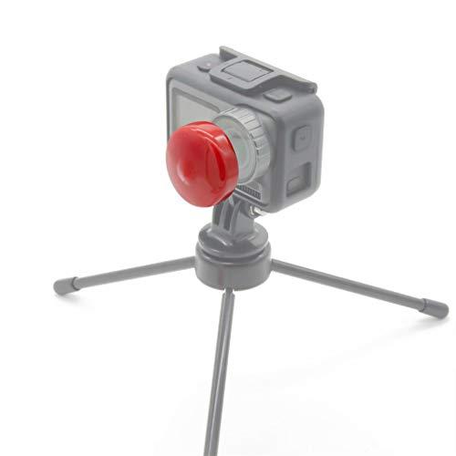 Webla Coperchio di protezione per DJI Osmo in siliconeLa fotocamera sportiva protegge il copriobiettivo della fotocamera,Rosso Land Mobile Base