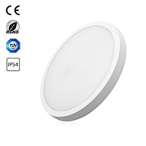 36W LED Ceiling light Kreisförmiges Deckenleuchte Deckenlicht für Badezimmer naturweiß IP54...