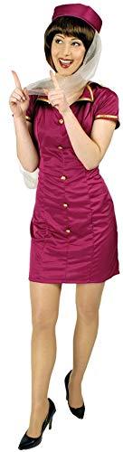 Stewardess Emira Kostüm für Damen Gr. 44 46