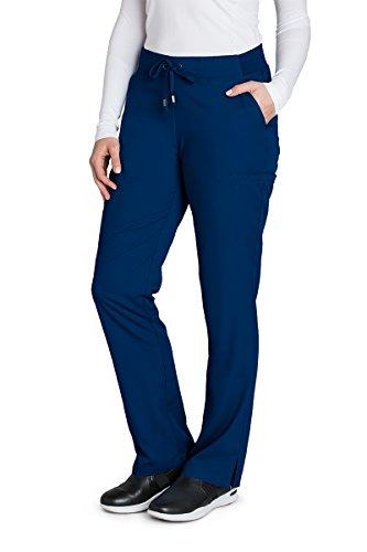 Barco Grey's Anatomy 4277 Damen Uniformen Hose Medizin Damen Mittel Indigo -