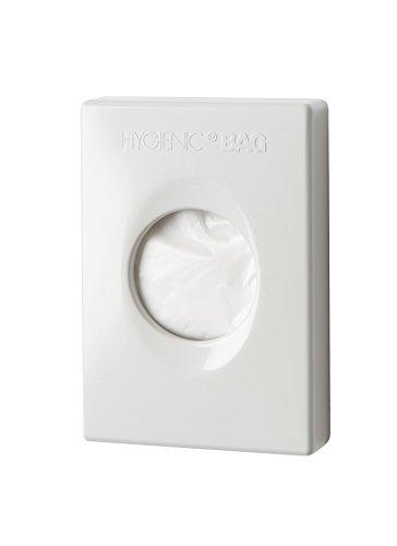 Spender für Damenhygienebeutel. Einfach an der Wand anzubringen