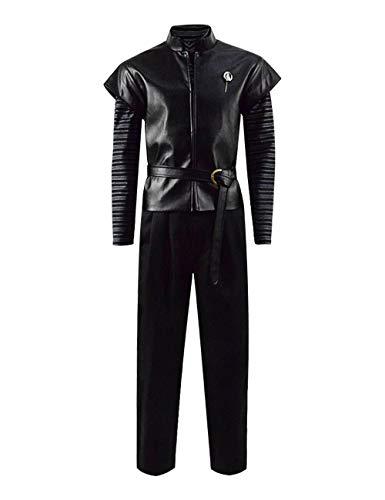 IDEALcos ERHALTEN Charakter Tyrion Lannister Cosplay Kostüme Halloween Party Little Devil Outfit für Erwachsene Männer (XXL, Schwarz S7)