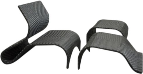 Nim Noir - Fauteuil, repose pieds et table basse en résine tressée