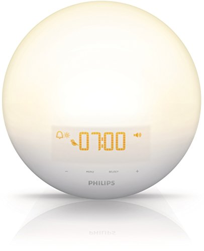 Philips Wake-Up Light - Projektor Umwelt (Aufwachlicht, Luxeon, gelb, Schlafzimmer, China, Class III) (Light Wake-up Von Philips)