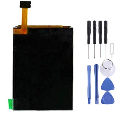 JIAHENG Neue Ersatzteile Hochwertiger LCD-Bildschirm für Nokia N82 / E66 / 6210N / N77 / N78 / N79 / 6208 Smartphone-Flexkabel (Farbe : Color1) N78 Smartphone