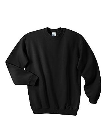 Legou Homme sweatershirt Manches Longue Collet-rond Sport blouse Gris Small