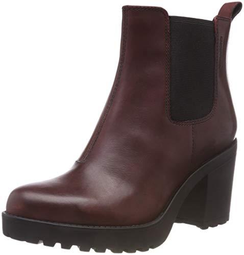 Vagabond Damen Grace Chelsea Boots, Braun (Bordo), 39 EU
