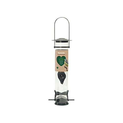 ROSEWOOD (Feeding Time) Wild Bird Starter Seed Feeder Large