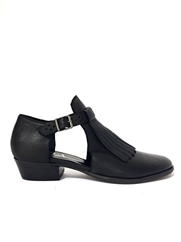 ZETA SHOES , Damen Mokassins * Schwarz