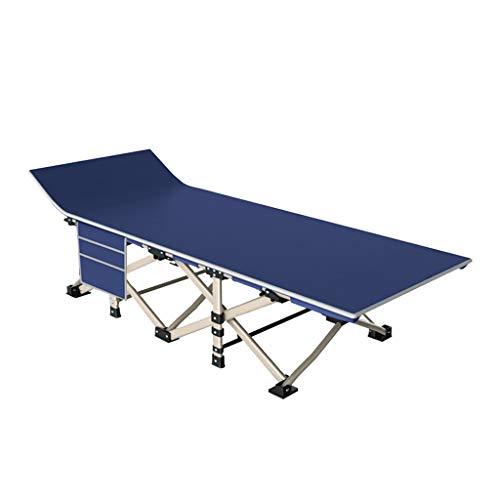 CUI XIA UK Folding bed Lit Pliant D'ExtéRieur, Lit De Sieste pour Le Bureau à Domicile - Lit D'Accompagnement D'HôPital - Lit Simple Simple - 178x67cm