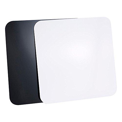 PIXAPRO Set 2Stück 60x 60cm Schwarz & Weiß reflektierend Acryl Boards für Produktfotografie * Schnelle Lieferung * UK Lager * Umsatzsteuer registriertes