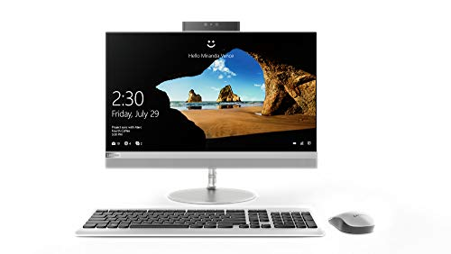 Lenovo 520 22ICB AIO 21.5-inch All-in-One Desktop (8th gen Core i5-8400T/8GB/2TB/Windows 10 Home/Integrated Graphics), Silver