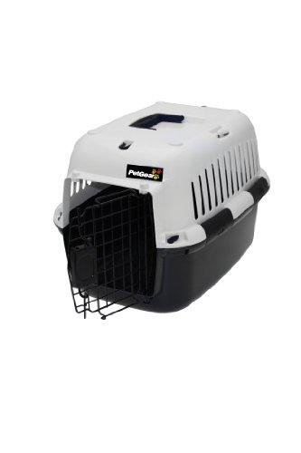 PetGear by Happy Pet Hunde-Transportbox, groß, schwarz